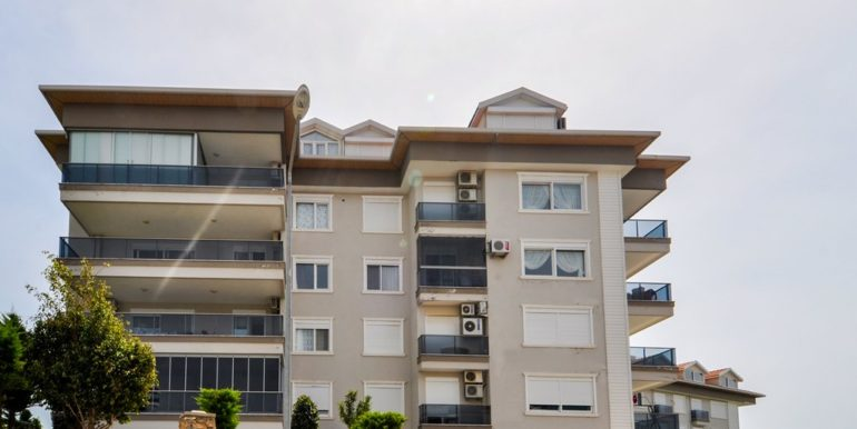 Seaview Apartment With 3 Bedroom in Alanya Kestel 135000 Euro