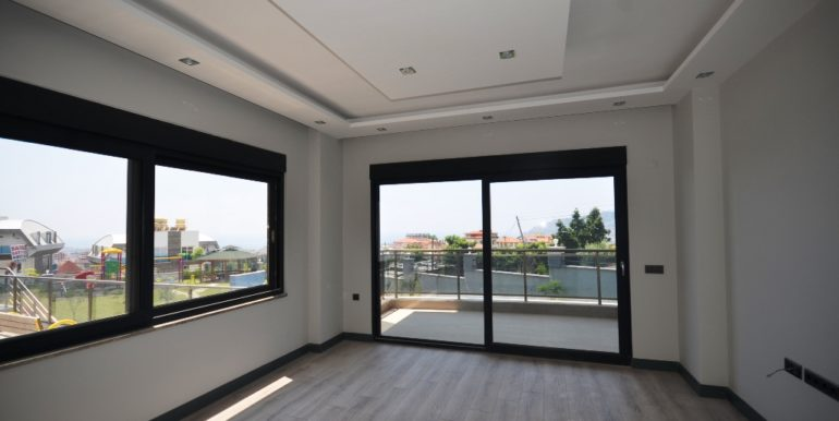 seaview duplex apartment for sale in alanya