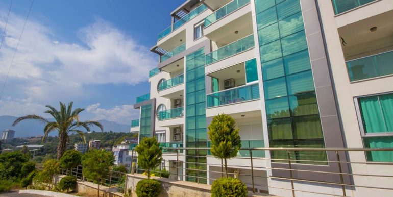 alanya flat apartment in luxury residence for sale 71000 euro