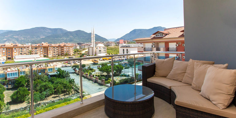 2 Bedroom Penthouse In Alanya OBA For 89900 Euro