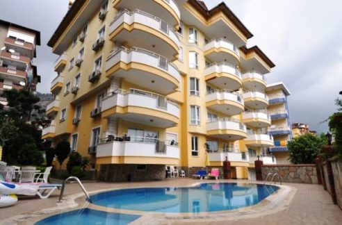 3 Bedroom Penthouse In Alanya Center For Sale