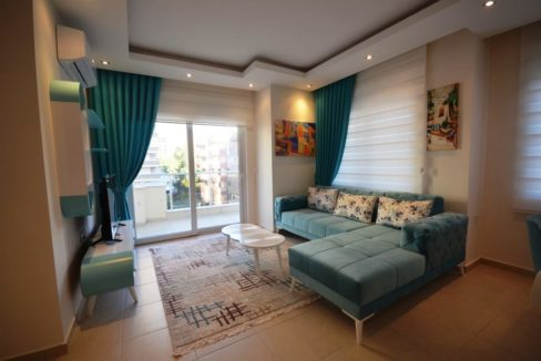 45000 € Alanya Mahmutlar Apartment for sale furnished