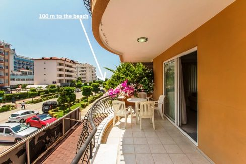 Turkey Alanya Oba 3 Room Apartment For Sale 89000 Euro