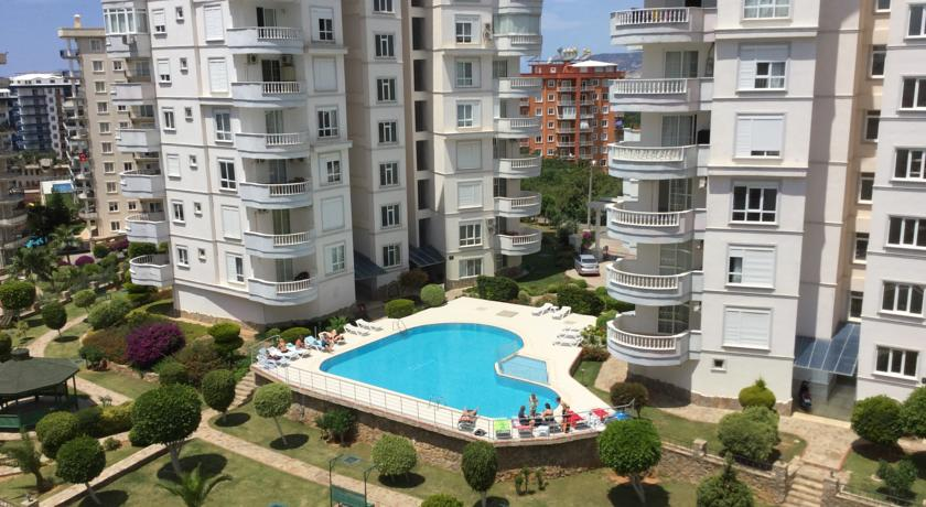 Alanya Sea View Apartment for sale in Alanya Tosmur