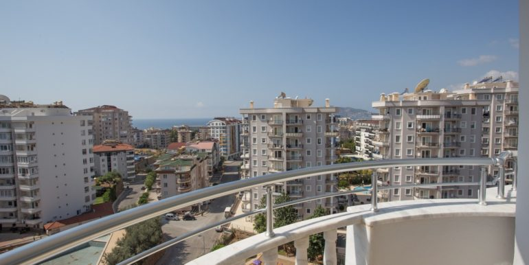 Alanya Sea View Apartment In Great Location For Sale