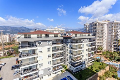Alanya Sea View Apartment In Tosmur For Sale