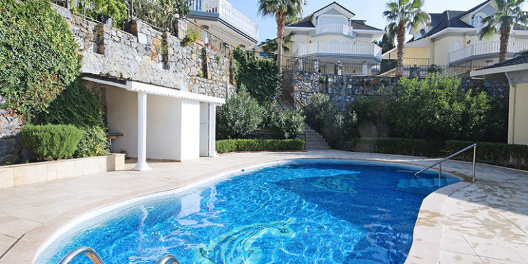 Alanya Seaview Villa House With Garage And Pool For Sale 225000 Euro