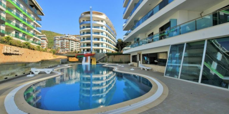 Garden Dublex Apartment In Luxury Residence Alanya For Sale