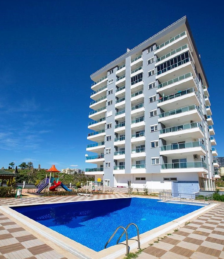 New Apartment for sale in alanya with 2 bedrooms furnished