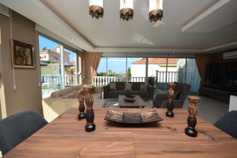 Private Villa With Sea View In Alanya For Sale 270,000 €