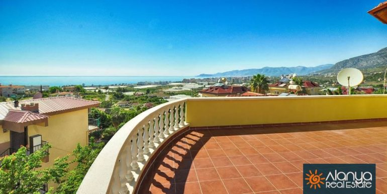 Sea View Villa House Alanya With Pool For Sale 100000 Euro