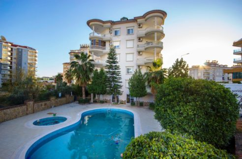 Alanya 2+1 Apartment With 2 Bathrooms In Cikcilli For Sale
