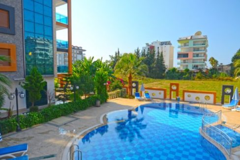 Alanya Beachclose Luxury Apartment For Sale 55 000 euro