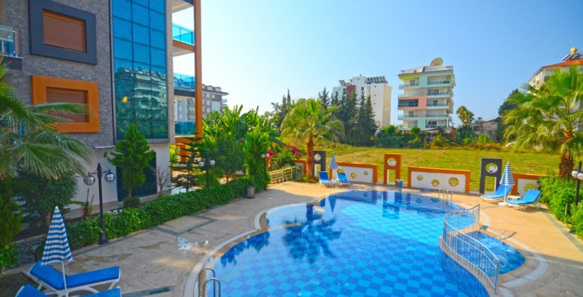 Alanya Beachclose Luxury Apartment For Sale 55000 euro