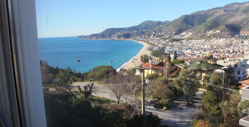 Alanya Castle Apartment With Amazing Seaview For Sale