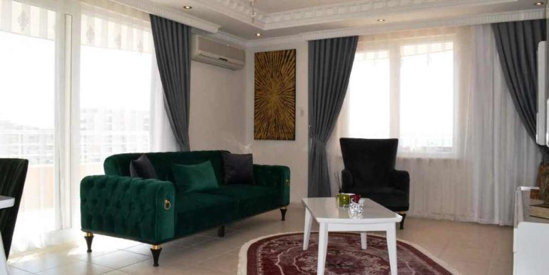 Alanya Luxury Apartment Near The Beach Location For Sale