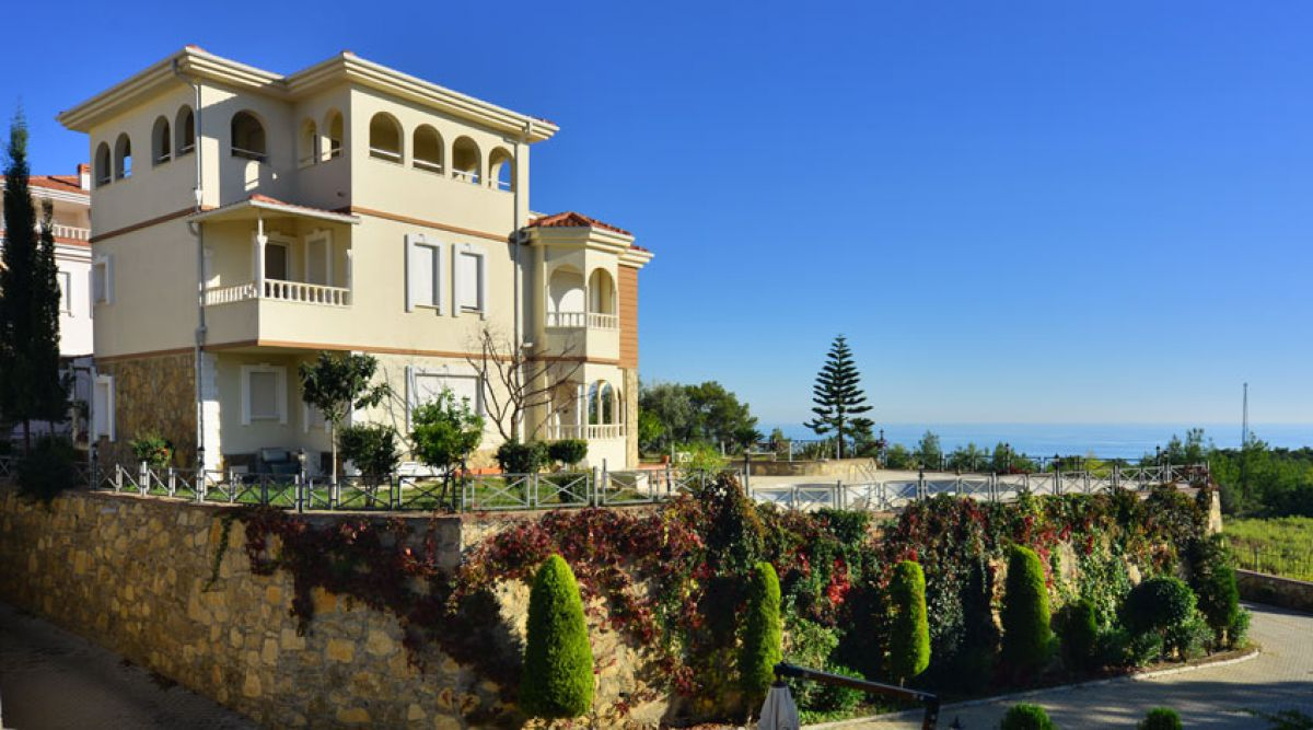 Alanya Sea View House Cheap For Sale 85000 Euro