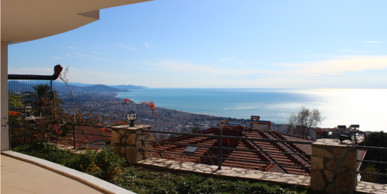Turkey Alanya seaview Villa home for sale 119000 euro