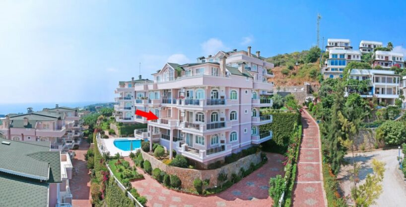 Quiet Location Cheap Apartment For Sale in Alanya Turkey