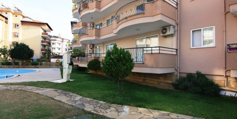 alanya oba apartment flat for sale 64.000 eur