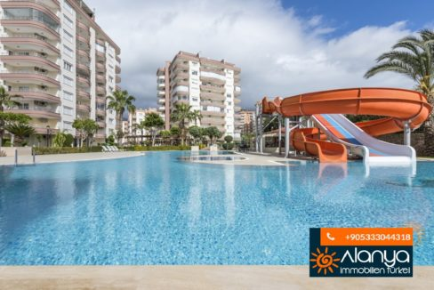 Alanya Prestij Residence Apartment In Tosmur For Sale