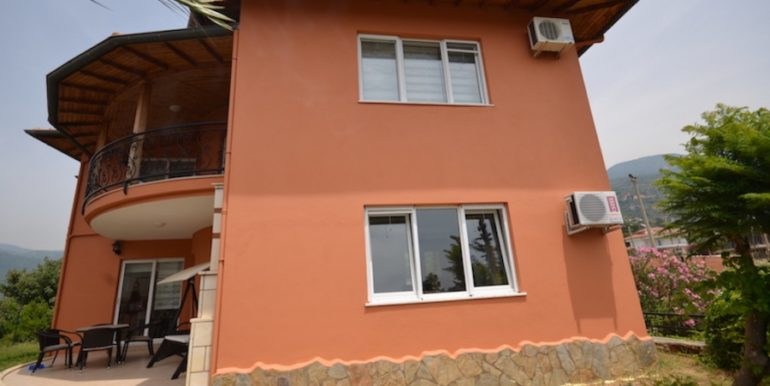 Alanya Villa For Rent in Oba With Sea View