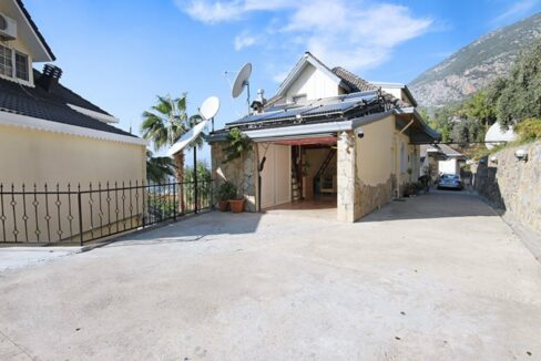 Privat Villa House For Sale In Alanya Tepe 380000 Euro