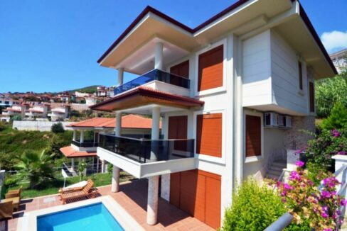 Private Villa Home for sale in Alanya Center-MD29-AR
