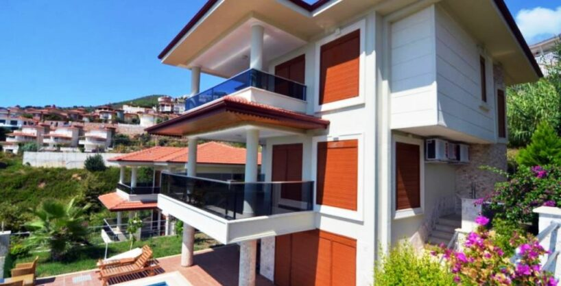 Privat villa hjem til salgs i Alanya Center-MD29-AR