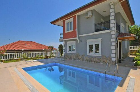 Private Villa Swimming Pool for sale from owner Alanya