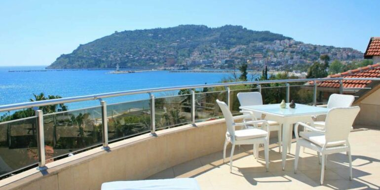 Beach Front Penthouse For Sale In Alanya