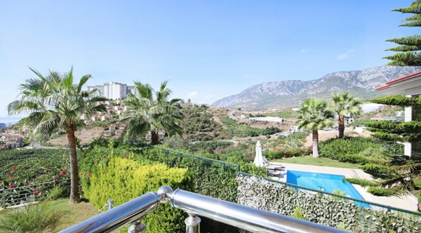 Luxury Private Villa For Sale From Owner In Alanya Kargicak