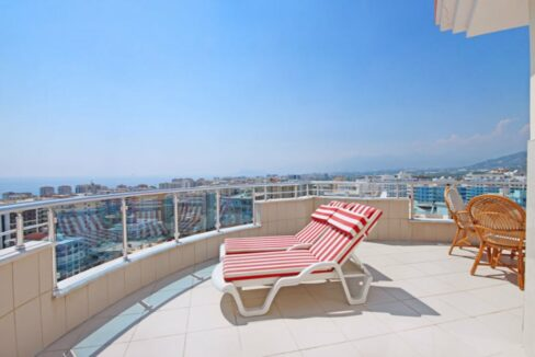 Mahmutlar Alanya Penthouse Duplex For Sale From Owner