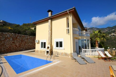 Private Villa For Sale From Owner In Alanya Tepe