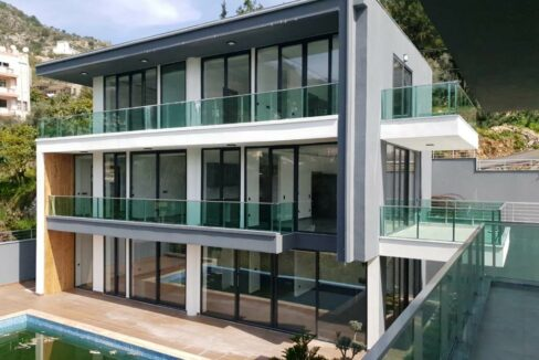 Private Villa For Sale Suitable For Turkish Citizenship In Alanya