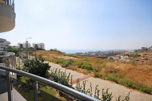 Three Rooms Apartment For Sale From Owner In Alanya