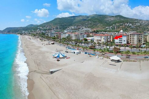 Beach Close Apartment For Sale From Owner In Alanya Cleopatra