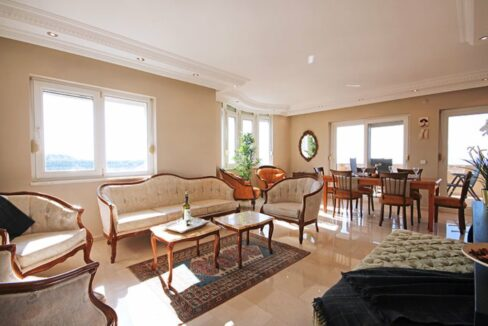 Ocean View Penthouse For Sale From Owner In Alanya Kargicak