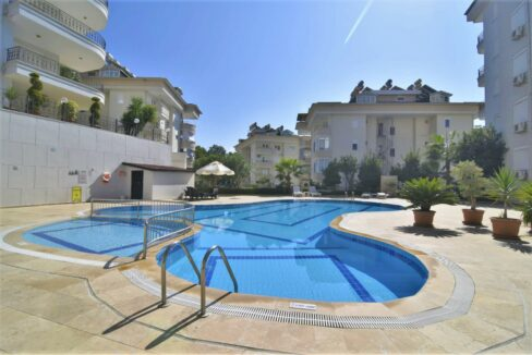 3 Room Apartment For Sale From Owner In Alanya Cikcilli