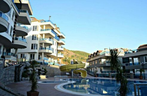 4 Room Duplex Apartment For Sale In Alanya Cleopatra