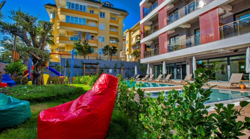 Alanya Cleopatra Beach Apartments Project For Sale