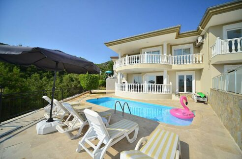 Bektas Alanya Private Sea View Villa For Sale From Owner