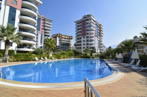 Cikcilli Alanya Property Apartment For Sale In All In Complex