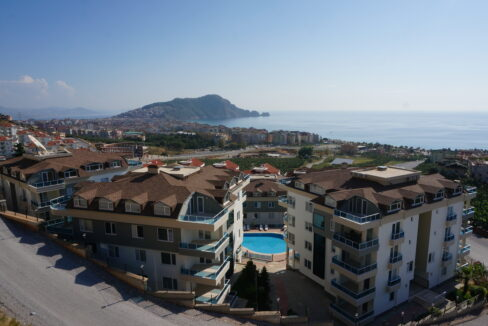 Duplex Apartment For Sale In Luxury Facility In Alanya