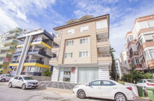 Fully Furnished 2 Bedroom Apartment In Alanya Center