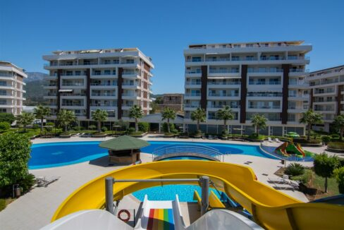 Luxury Apartment Project For Sale In Demirtas Alanya
