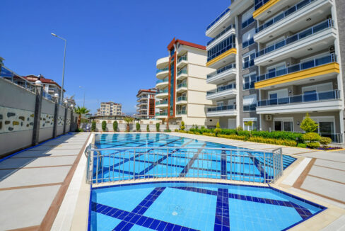 Luxury Beach Close Apartment For Sale In Alanya Kestel