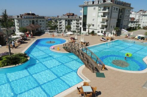 Luxury Duplex Apartment For Sale In Oba Alanya