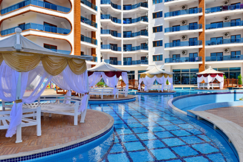 Mahmutlar Alanya Apartment Flat For Sale In All In Complex