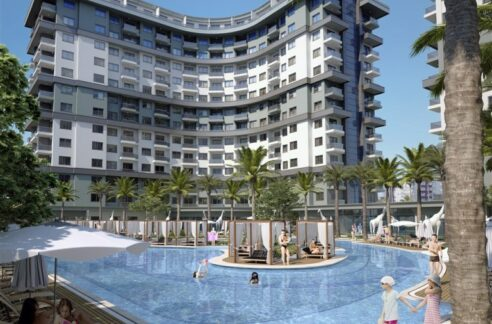 Mahmutlar Alanya Apartment Flat For Sale In Luxury Facility